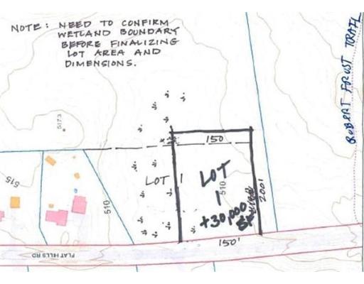 Lot 1 Flat Hills Road, Amherst, MA 01002