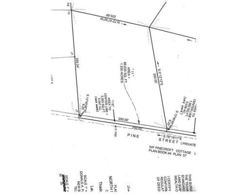 土地 为 销售 在 4 Pine Road North Brookfield, 马萨诸塞州 01535 美国
