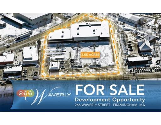 Land for Sale at 266 Waverly Street Framingham, Massachusetts 01702 United States