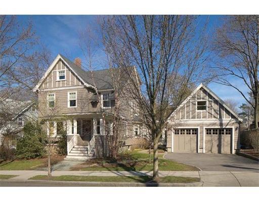 Single Family Home for Sale at 119 Coolidge Street 119 Coolidge Street Brookline, Massachusetts 02446 United States