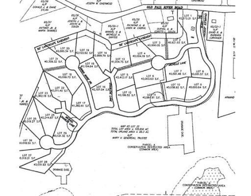 Land for Sale at 11 Charles Joseph Drive 11 Charles Joseph Drive Dartmouth, Massachusetts 02747 United States
