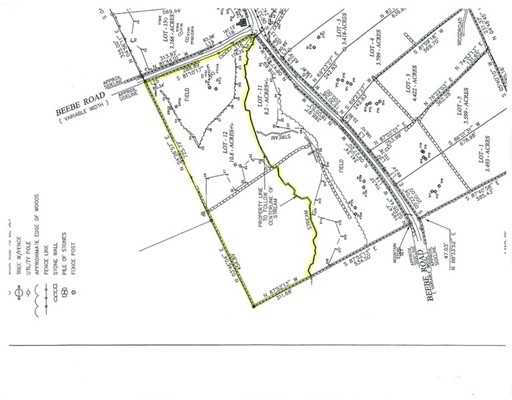 土地,用地 为 销售 在 12 Beebe Road Monson, 01057 美国