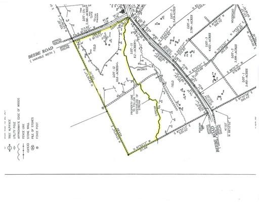 أراضي للـ Sale في Address Not Available Monson, Massachusetts 01057 United States