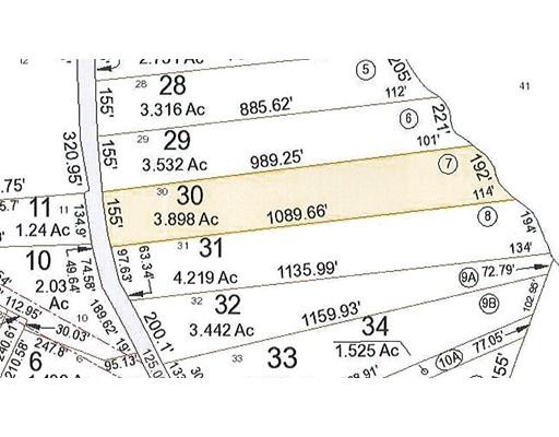 土地 为 销售 在 Cutler Road Warren, 01083 美国