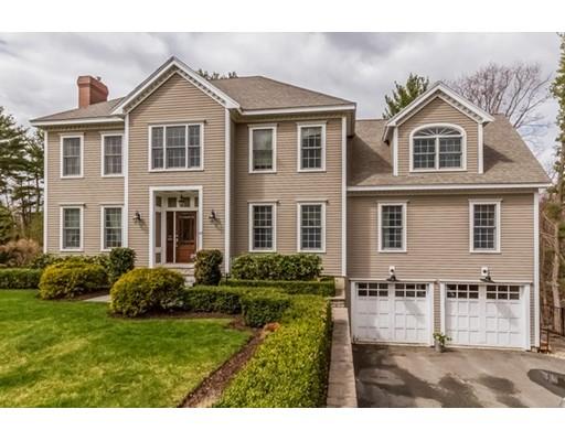 Частный односемейный дом для того Продажа на 43 Pleasant Street Wenham, Массачусетс 01984 Соединенные Штаты