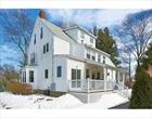 Boston Massachusetts townhouse photo