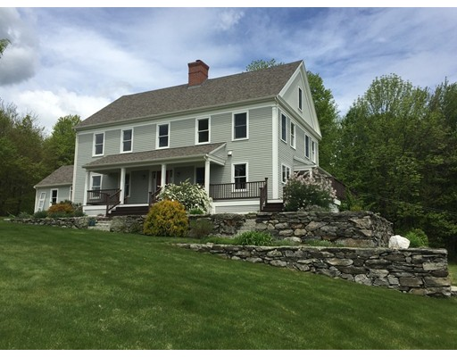 Casa Unifamiliar por un Venta en 1116 North Road Hardwick, Massachusetts 01037 Estados Unidos