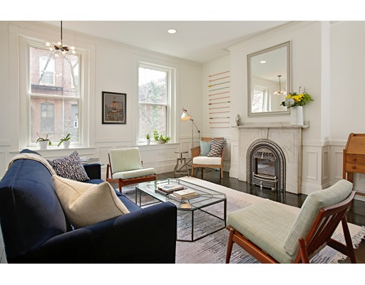 $2,295,000 - 4Br/3Ba -  for Sale in South End Historic District, Boston
