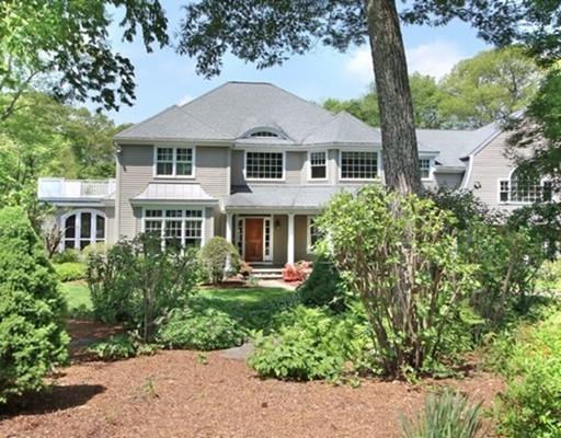 Maison unifamiliale pour l Vente à 11 Stratford Way 11 Stratford Way Lincoln, Massachusetts 01773 États-Unis