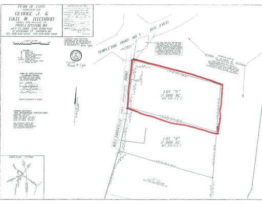 Lot 5 Williamsville Road, Phillipston, MA 01331