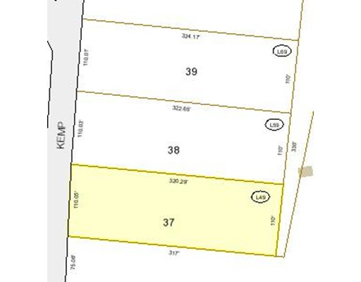 Land for Sale at 49 Kemp Street Winchendon, 01475 United States