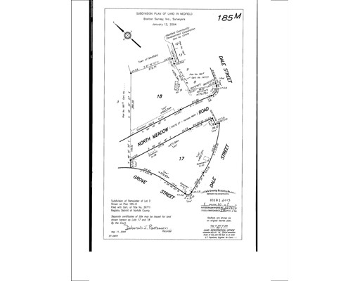 Land for Sale at Address Not Available Medfield, Massachusetts 02052 United States