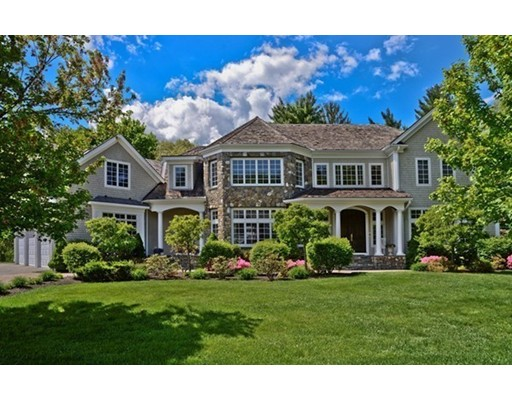 Single Family Home for Sale at 1 Stonefield Lane Wellesley, Massachusetts 02482 United States