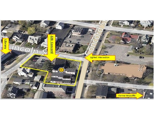 Commercial for Sale at 228 Concord Street Framingham, Massachusetts 01702 United States