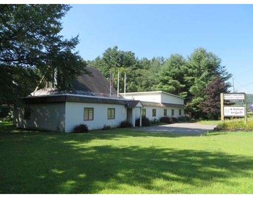 Commercial for Sale at 623 Mohawk Trail 623 Mohawk Trail Shelburne, Massachusetts 01370 United States