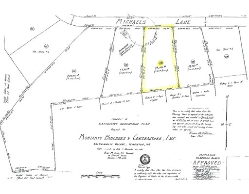 Land for Sale at 18 Michaels Lane Templeton, 01468 United States