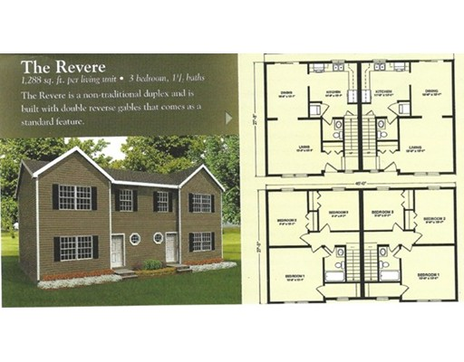 Multi-Family Home for Sale at 93 (lot76)New Templeton Road 93 (lot76)New Templeton Road Hubbardston, Massachusetts 01452 United States