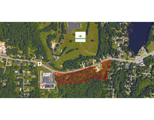 Land for Sale at 1355 Main Street Leicester, Massachusetts 01524 United States