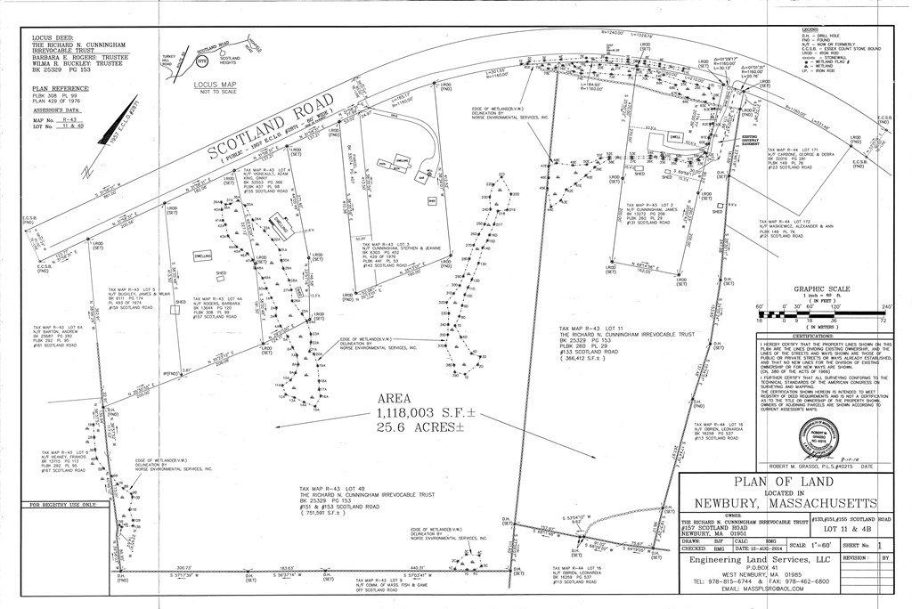 Property for sale at 133 & 151 Scotland Rd., Newbury,  MA 01951