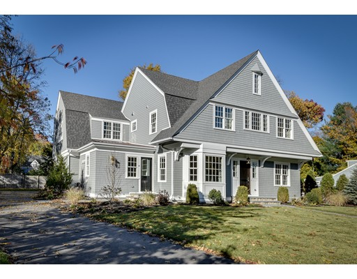 Single Family Home for Sale at 40 Chesterton Road Wellesley, Massachusetts 02481 United States