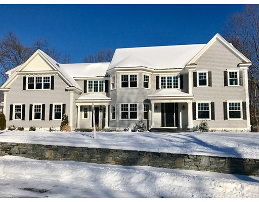 Single Family Home for Sale at 235 Lowell Road Wellesley, Massachusetts 02481 United States