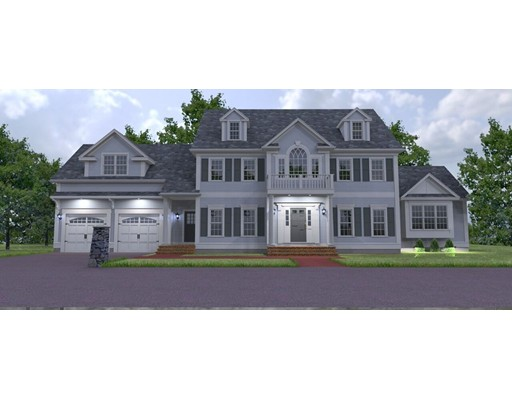 Single Family Home for Sale at 30 Horseshoe Lane (Lot 6) Canton, Massachusetts 02021 United States