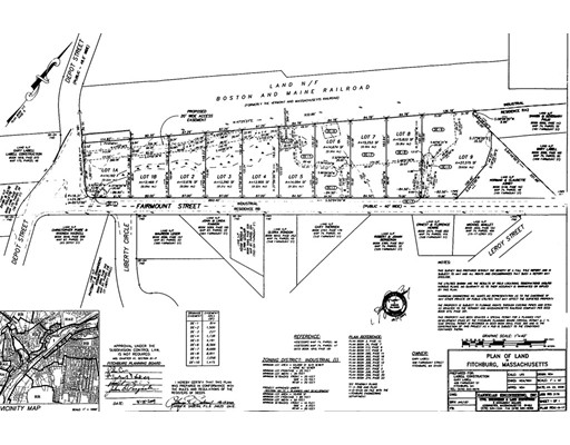 Land for Sale at 1 Fairmount Street Fitchburg, 01420 United States