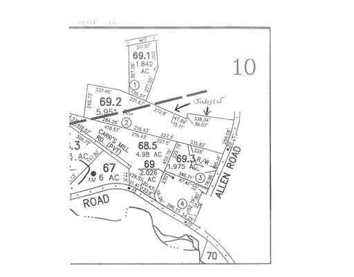 Land for Sale at 1 Allen Road Ashby, 01431 United States