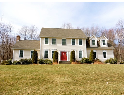 Casa Unifamiliar por un Venta en 557 Hall Hill Road 557 Hall Hill Road Somers, Connecticut 06071 Estados Unidos