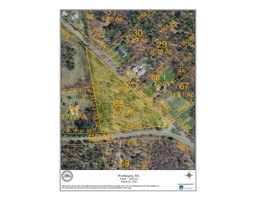 Land for Sale at East Windsor Road East Windsor Road Worthington, Massachusetts 01098 United States