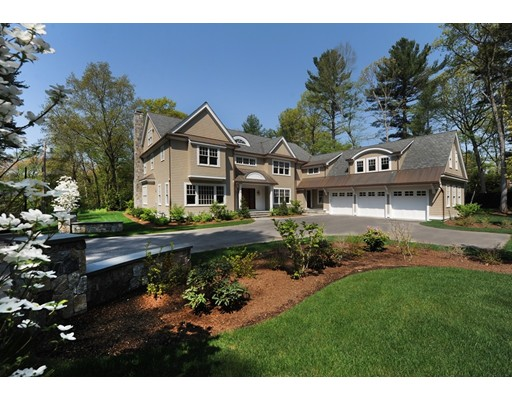 Single Family Home for Sale at 159 Dover Road Wellesley, Massachusetts 02481 United States