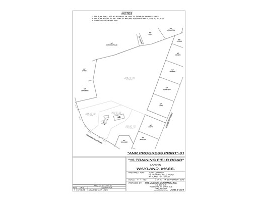 Land for Sale at 21 Training Field Wayland, Massachusetts 01778 United States