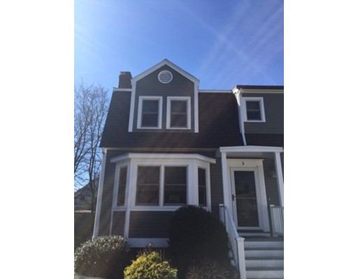 Townhouse for Rent at 3 Knights Hill Rd #3 3 Knights Hill Rd #3 Marblehead, Massachusetts 01945 United States