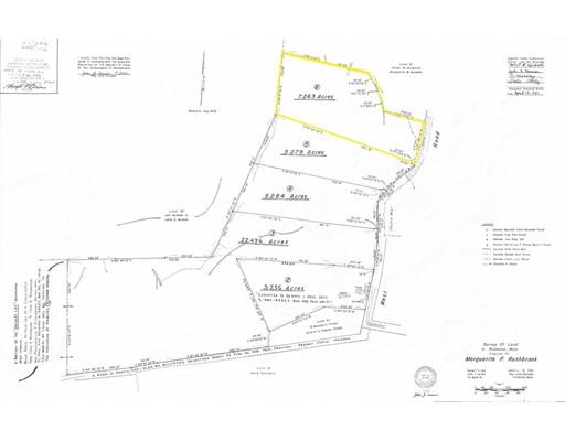Terrain pour l Vente à Address Not Available Richmond, Massachusetts 01254 États-Unis
