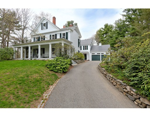 Single Family Home for Sale at 4 Winthrop Place Wayland, Massachusetts 01778 United States