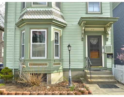 Multi Family for Sale at 26 Bardwell Boston, Massachusetts 02130 United States