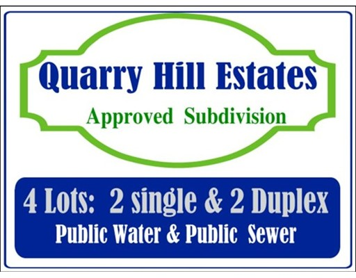 Land for Sale at Quarry Hill Estates Blackstone, Massachusetts 01504 United States