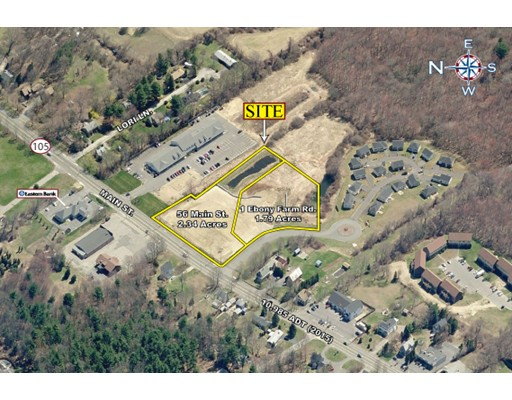 Land for Sale at 56 Main Street Lakeville, Massachusetts 02347 United States