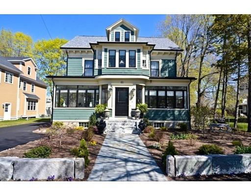 Single Family Home for Sale at 129 Lake Street Arlington, Massachusetts 02474 United States