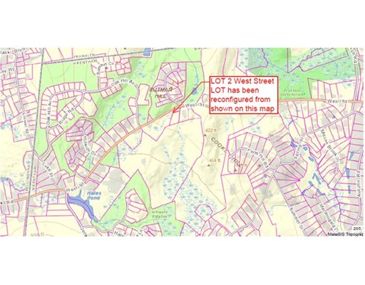 Land for Sale at 2 West Street 2 West Street Wrentham, Massachusetts 02093 United States