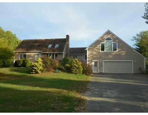 Enfamiljshus för Försäljning vid 350 Warren Wright Road 350 Warren Wright Road Belchertown, Massachusetts 01007 Usa