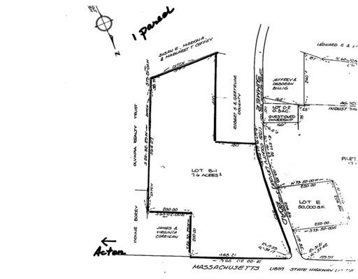 Land for Sale at 126 Massachusetts Avenue Boxborough, Massachusetts 01719 United States