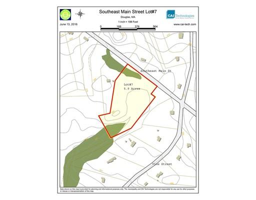 Land for Sale at 7 Southeast Main 7 Southeast Main Douglas, Massachusetts 01516 United States