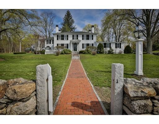 Частный односемейный дом для того Продажа на 519 Main Street 519 Main Street Dunstable, Массачусетс 01827 Соединенные Штаты