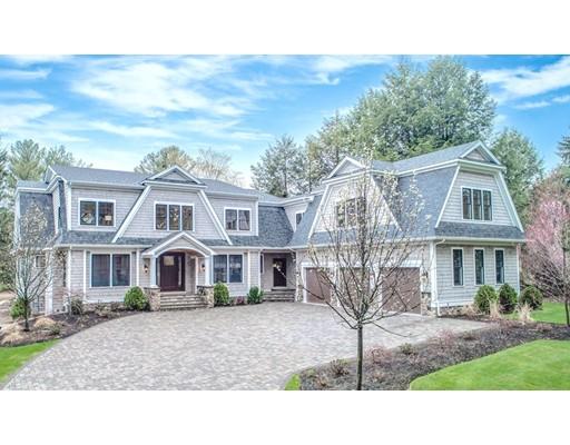 Частный односемейный дом для того Продажа на 382 South Street Needham, Массачусетс 02492 Соединенные Штаты
