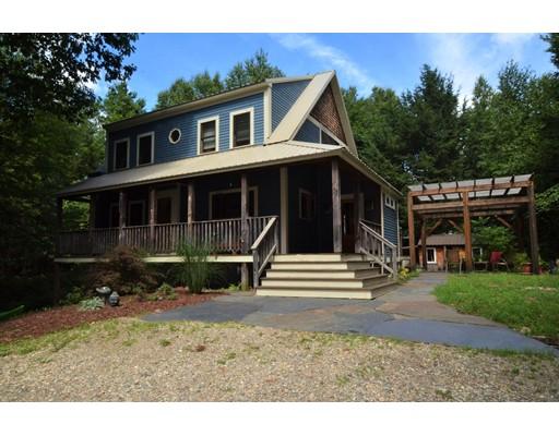 Частный односемейный дом для того Продажа на 73 Long Plain Road Leverett, Массачусетс 01054 Соединенные Штаты