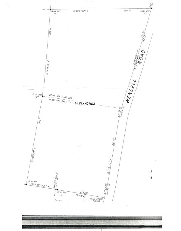 Property for sale at Lots 1 & 2 Wendell Rd, Warwick,  MA 01378