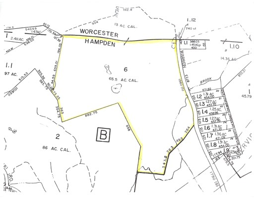 Land for Sale at Warren Road Brimfield, 01010 United States