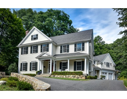 Single Family Home for Sale at 8 Thackeray Road Wellesley, Massachusetts 02481 United States