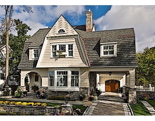 Частный односемейный дом для того Продажа на 61 Fair Oaks Park 61 Fair Oaks Park Needham, Массачусетс 02492 Соединенные Штаты